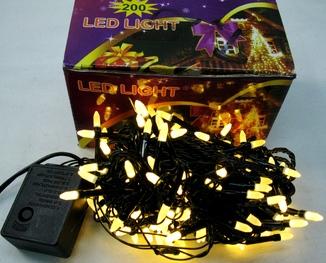 Гирлянда светодиодная 200 LED лампочек , Гірлянда новорічна 200 ЛЕД .