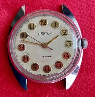 Часы Восток  (218). Точный ход