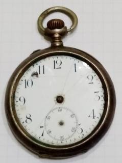 Часы карманные ( серебро ).
