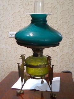 Керосиновая лампа начала ХХ века Торгового дома братьев Е и А Флегонтовых