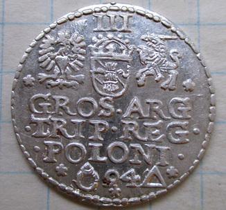 Трояк 1594 года (Malbork)