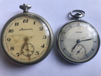 Часы молния 1953 год 1 квартал . Часы молния ( паровоз)