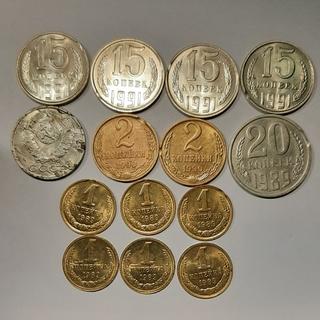 Браки. 14 монет.