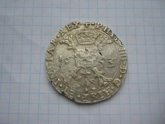 Талер Патагон 1653 год.