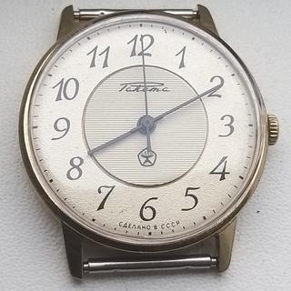 Часы Ракета  знак качества.позолота Au