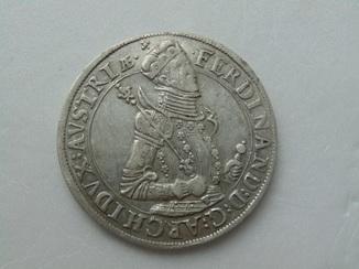 Талер 1564-1595 гг. Эрцгерцог Фердинанд Тирольский, без дати.