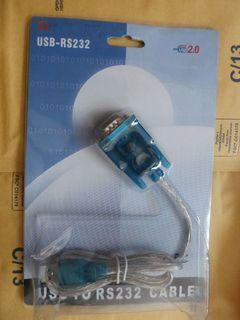 Преобразователь (конвертер) HL340 USB - RS232 с кабелем для прошивки тюнерів
