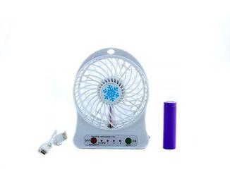 Портативный настольный вентилятор с аккумуляторной батареей 18650 mini fan xsfs-01