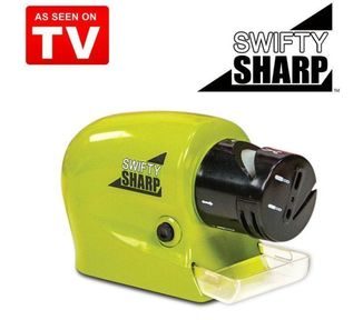 Точилка для ножей Ножеточка электрическая универсальная Swifty Sharp