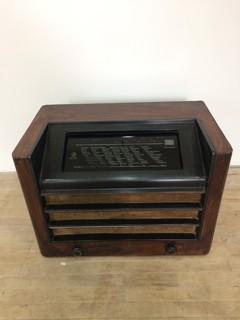 Старый Ламповый Радиоприемник SABA 347GWL(Germany 1937/38г.)