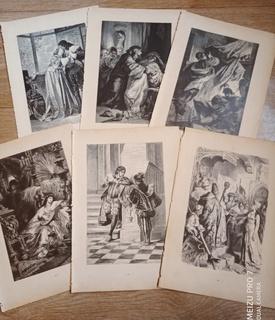 6 принтов Короли. Аристократия. 1901 год.