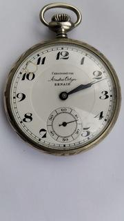 Старинные карманные часы. Хронометр. Andre Ostyn RENAIX
