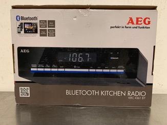 Радио кухонное AEG KRC 4361 Bluetooth,FM PLLтюнер с 30 предустановками