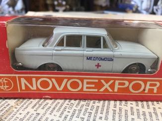 Коллекционная модель Москвич-412 Медпомощь.Novoeexport. Масштаб 1:43. Модель А2