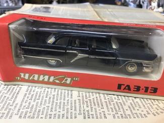 Модель Чайка ГАЗ-13 ОЛИМПИАДА. Масштаб 1:43. Модель А15