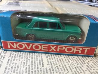 Модель ВАЗ-2101 Novoeexport. Масштаб 1:43. Модель А9