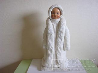 Снегурочка папье-маше Донецкая фабрика игрушки