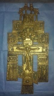 Хрест старовинний великий (лот 8)