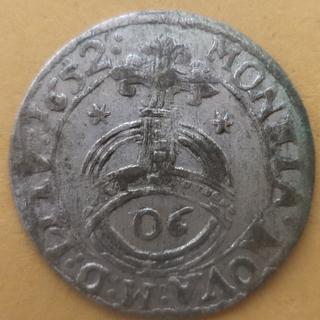 Полторак 1652 Ян Казимир( Вильно)