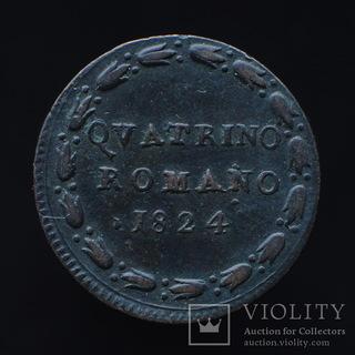 Римское Кватрино 1824, Папская Область / Ватикан