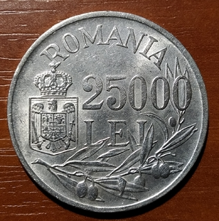 25000 лей леев 1946
