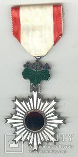 Орден Восходящего Солнца 6-й ст.