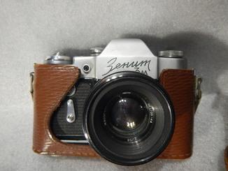 Фотоаппарат Зенит 3м № 66085104 с «HELIOS-44 2/58»  №6037907
