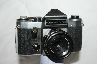 Фотоаппарат Porst Reflex FX6 + Domiplan 2.8/50мм