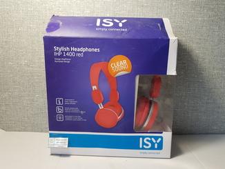 Наушники ISY IHP 1400 RED Оригинал с Германии