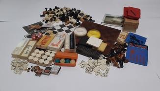 Игры СССР шахматы шашки домино пятнашки и др