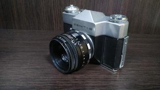 """Фотоаппарат """"Зенит-В"""" объектив Helios 44-2"""