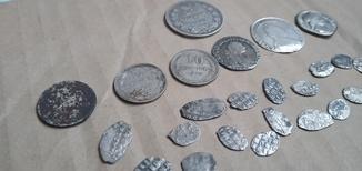 Монеты разного периода 27 штук