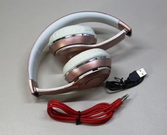 Беспроводные наушники TM-037S bluetooth , MP3 плеер, FM приемник и AUX