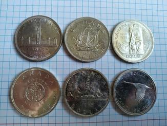 Канада Долари 6 штук