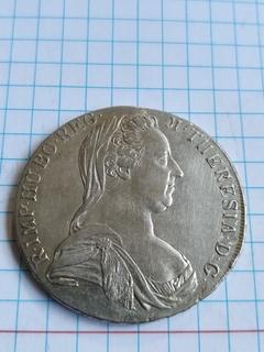 Талер Марії Терези 1780 ( Мілан1780-1790р)