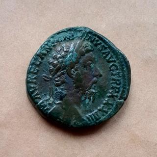Сестерций Марка Аврелия, Рим, 160-е годы