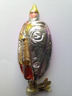Ёлочная игрушка Богатырь