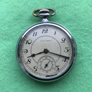 Часы карманные 1 гчз с цифером от 2 московск завода