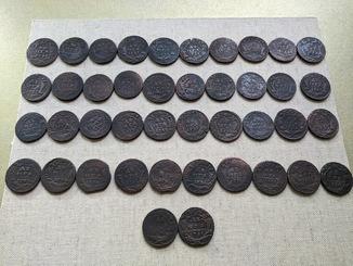 42 монеты Деньга