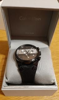 Швейцарський годинник Calvin Klein K4B374B3 кварц. Хронограф