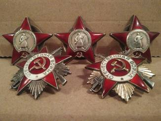 Три ордена КЗ и ООВ на одного кавалера.