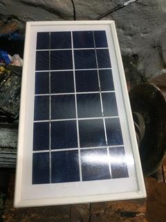 Сонячна панель 6V 0.58A