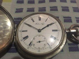 Часы Павель Буре, серебрянные