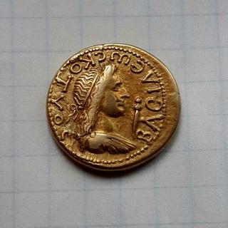 Статер Котиса ІІ, Пантикапей. 131-132 год н.э.