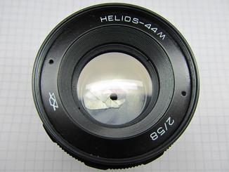 Гелиос 44М со светофильтром