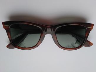 Винтажные солнцезащитные очки Bausch & Lomb B&L Ray-Ban U.S.A. Wayfarer 5022