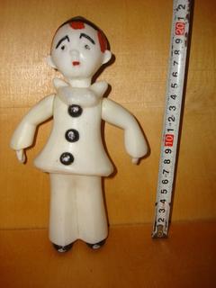 Кукла Пьеро Пластик