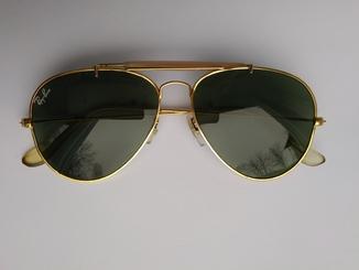 Винтажные солнцезащитные очки Ray-Ban U.S.A., 70-80-е годы, оригинал