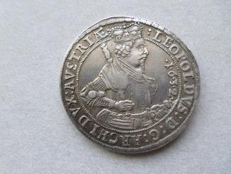 Талер. Леопольд 1632 г.