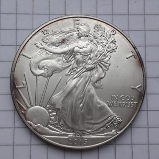 США 1 доллар, 2015 Серебро 0.999